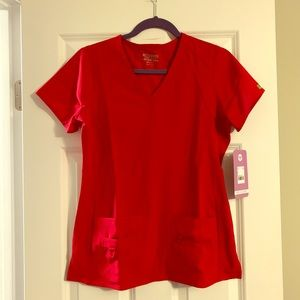 Small Med Couture Activate Scrub Top